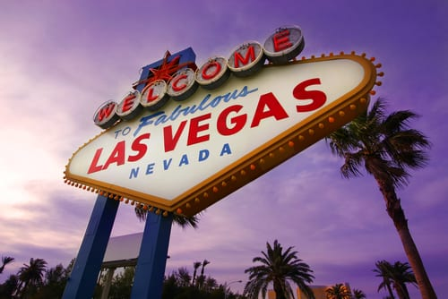 image of the las vegas sign
