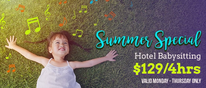 Nannies of america Mobile - Summer 2018 Promo