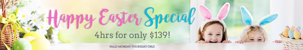 Nannies of america - Easter Promo